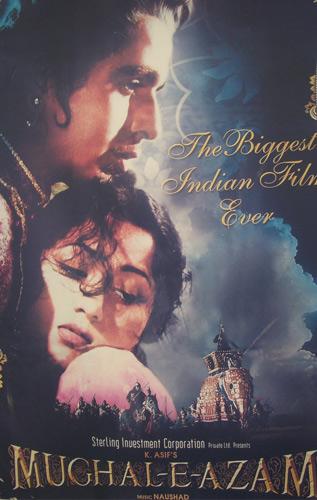 Mughal-E-Azam Movie Poster