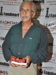Naseeruddin Shah at 'A Bolt of Lightning' Book Launch