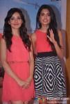 Neha Sharma, Sarah Jane Dias At Kyaa Super Kool Hain Hum Movie Promotion