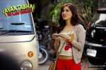 Neha Sharma musing over? in Jayanta Bhai Ki Luv Story Movie Stills