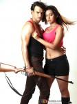 Prakash Sagar, Ester Noronha In Qayamat Hi Qayamat Movie Stills
