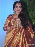 Rekha At Esha Deol Wedding Reception
