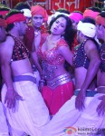 Sameera Reddy in a hot dance number from Chakravyuh Movie Stills