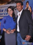 Sania Mirza, Mahesh Bhupathi At NDTV Sports Event