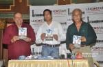 Micheal Ferreira, Satyen Nabar, Naseeruddin Shah at 'A Bolt of Lightning' Book Launch
