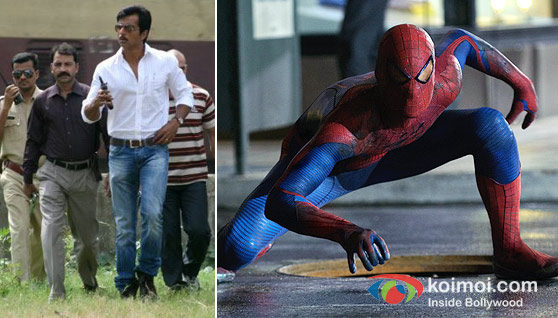 Sonu Sood In Maximum Movie, The Amazing Spider-Man Movie