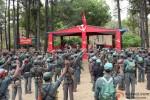 The Rebels camp in Chakravyuh Movie Stills