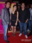 Vickrant Mahajan, Kainaz Motivala, Arbaaz Khan at Challo Driver Movie Premiere
