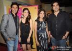 Vickrant Mahajan, Kainaz Motivala, Ronicka, Kandhari, Arbaaz Khan at Challo Driver Movie Premiere