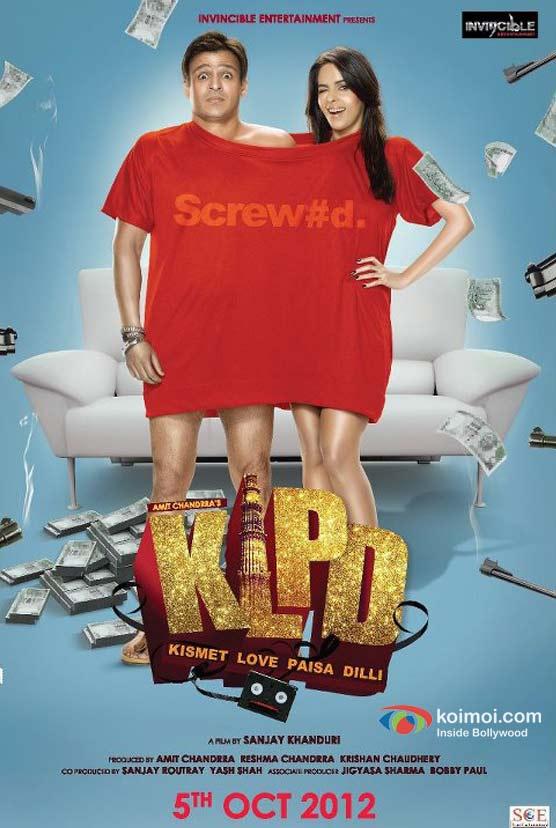 Vivek Oberoi and Mallika Sherawat in Kismet Love Paisa Dilli Movie Poster