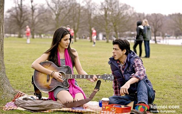 Katrina Kaif and Shah Rukh Khan in Yash Chopra's next A Yash Chopra Romance Movie Stills