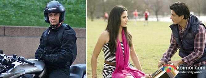 Aamir Khan, Katrina Kaif, Shah Rukh Khan