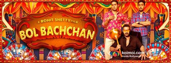 Abhishek Bachchan and Ajay Devgan In Bol Bachchan Movie