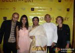Abuzar Ikkery, Anjali Patil, Alex Schot At Delhi In A Day Movie Screening