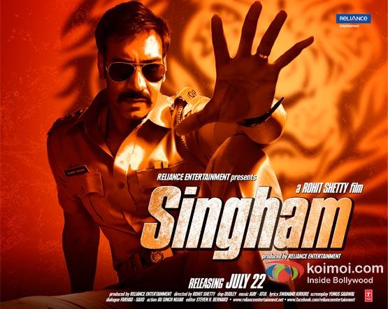 Ajay Devgan Singham Movie Wallpaper