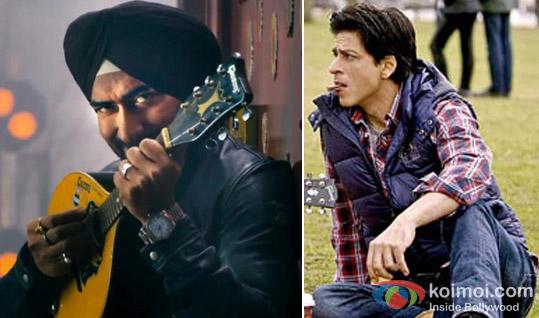 Ajay Devgan in Son Of Sardar Movie And Shah Rukh Khan in A Chopra Romance Movie