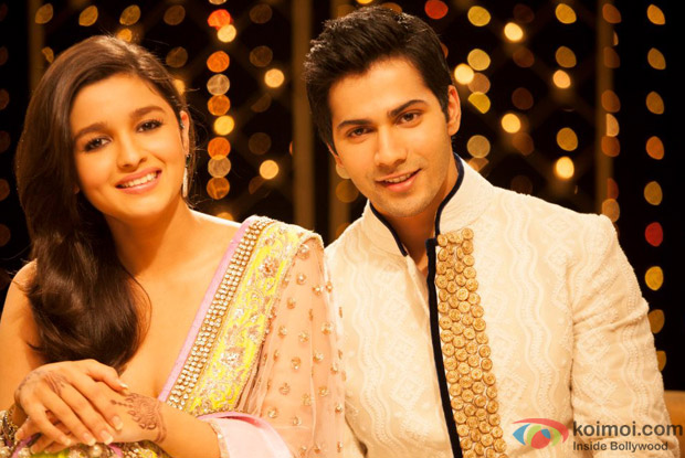 Alia Bhatt And Sidharth Malhotra In Student Of The Year Movie Stills