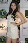 Alia Bhatt at the 19th Lions Gold Awards 2013