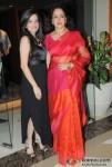 Amy Billimoria and Hema Malini At Jewellery Show