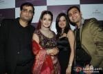 Anand Sakariya, Ameesha Patel Amy Billimoria and Sunny Sakariya At Jewellery Show
