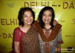 Aruna and Uma Vasudev At Delhi In A Day Movie Screening