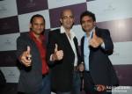 Ashok Sakariya, Utsav Dholakia and Haresh Sakaria At Jewellery Show