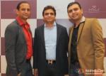 Ashok Sakariya, Utsav Dholakia and Sunny Sakaria At Jewellery Show