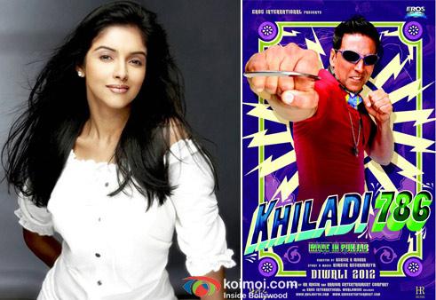 Asin and Akshay Kumar in Khiladi 786 Movie Poster