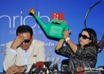 Boman Irani, Farah Khan Promote Shirin Farhad Ki Toh Nikal Padi Movie At Enrich Salons and Academy