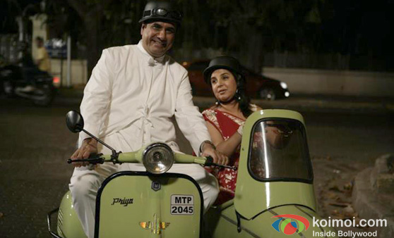 Boman Irani and Farah Khan in Shirin Farhad Ki Nikal Padi Movie Stills