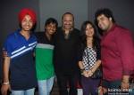 Devender Pal Singh, Amit Kumar, Leslie Lewis, Poorvi Kaoutish,Vipul Mehta At Indian Idol 6 - The Fabulous Four Recording