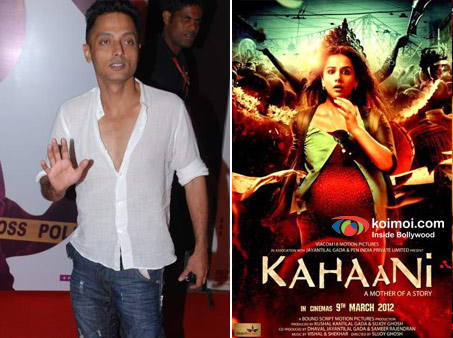 Director Sujoy Ghosh and Kahaani Movie Poster
