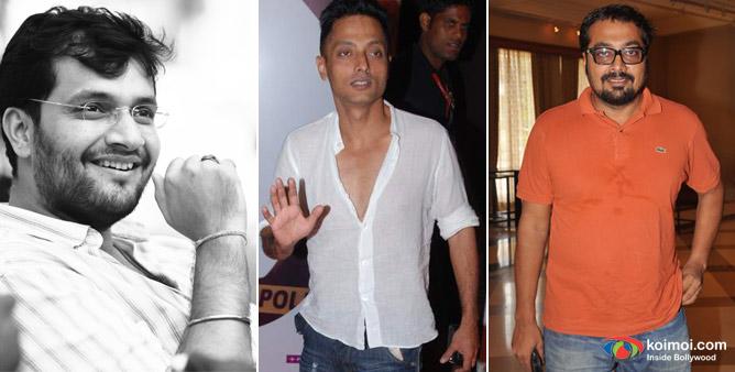 Directors Karan Malhotra, Sujoy Ghosh and Anurag Kashyap