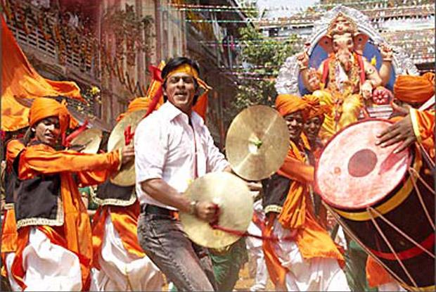 Ganesh Idol from Shah Rukh Khan's Don Movie in Maurya Re Song