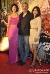 Esha Gupta, Prakash Jha, Anjali Patil At Chakravyuh Movie Trailer Launch