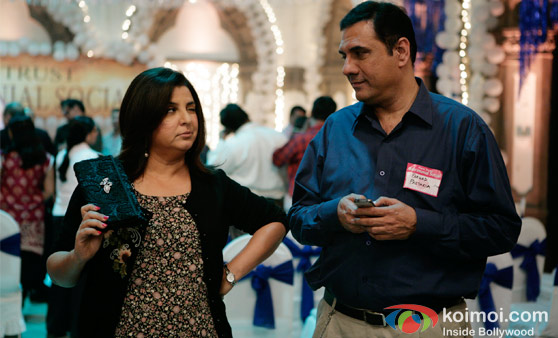 Farah Khan and Boman Irani in Farhad Ki Nikal Padi Movie Stills