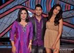 Farah Khan, Marzi Pestonji and Bipasha Basu On The Sets Of DID Litle Masters