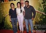 Gauri Shinde, Sridevi R.Balki At English Vinglish Movie Trailer Launch