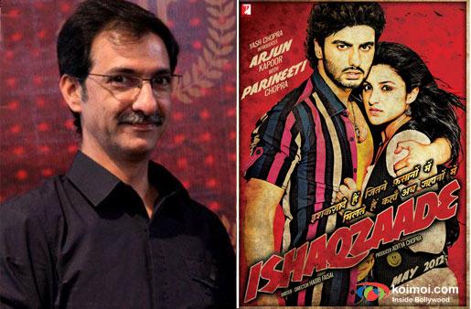 Director Habib Faisal and Ishaqzaade Movie Poster