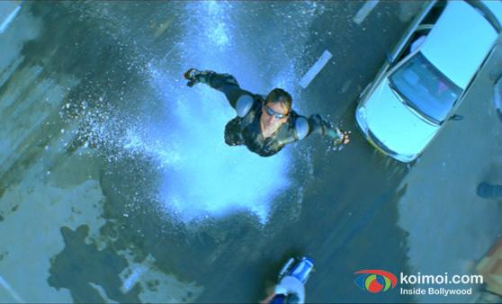 Hrithik Roshan In Dhoom 2 Movie Stills
