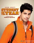 Introducing Sidharth Malhotra in Student Of The Year Movie Poster
