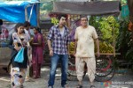 Jackky Bhagnani and a shabby looking Darshan Jariwala in Ajab Gazabb Love Movie Stills