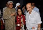 Javed Akhtar, Ila Arun, Anupam Kher At A. K. Hangal (Avtar Kishan Hangal) Prayer Meet