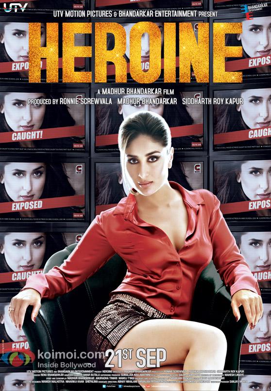 Kareena Kapoor in Heroine Movie Poster New