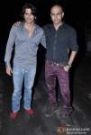 Karnvir Bohra and Rajiv Laxman at Kiran Bawa's Party in Juhu