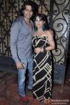 Karnvir Bohra and Teejay Sidhu at Kiran Bawa's Party in Juhu