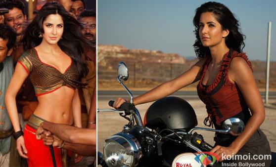 Katrina Kaif in Agneepath and Zindagi Na Milegi Dobara Movie Stills