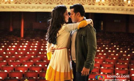 Katrina Kaif and Salman Khan In Ek Tha Tiger Movie Stills