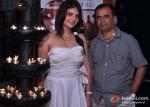 Madhavi Sharma and Yogesh Lakhani At Peninsula Restaurant
