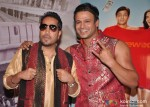 Mika Singh, Vivek Oberoi On The Sets Of Kismet (Kismat) Love Paisa Dilli Movie